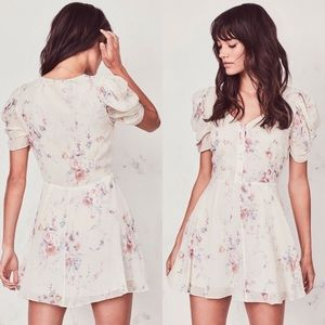 🤩🤩🔥🔥🔥🤩🤩Loveshackfancy fancy silk mini dress